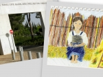 A child depicts Betty and Yad Vashem
