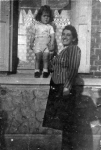 Perla Lewkowitz and her son Michel. They died together in Auschwitz